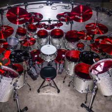 Aquiles Priester Drum Kit 2017 Pic By Arthur Galvao854