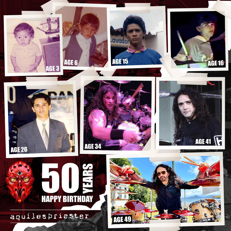 Aquiles 50 Anniversary