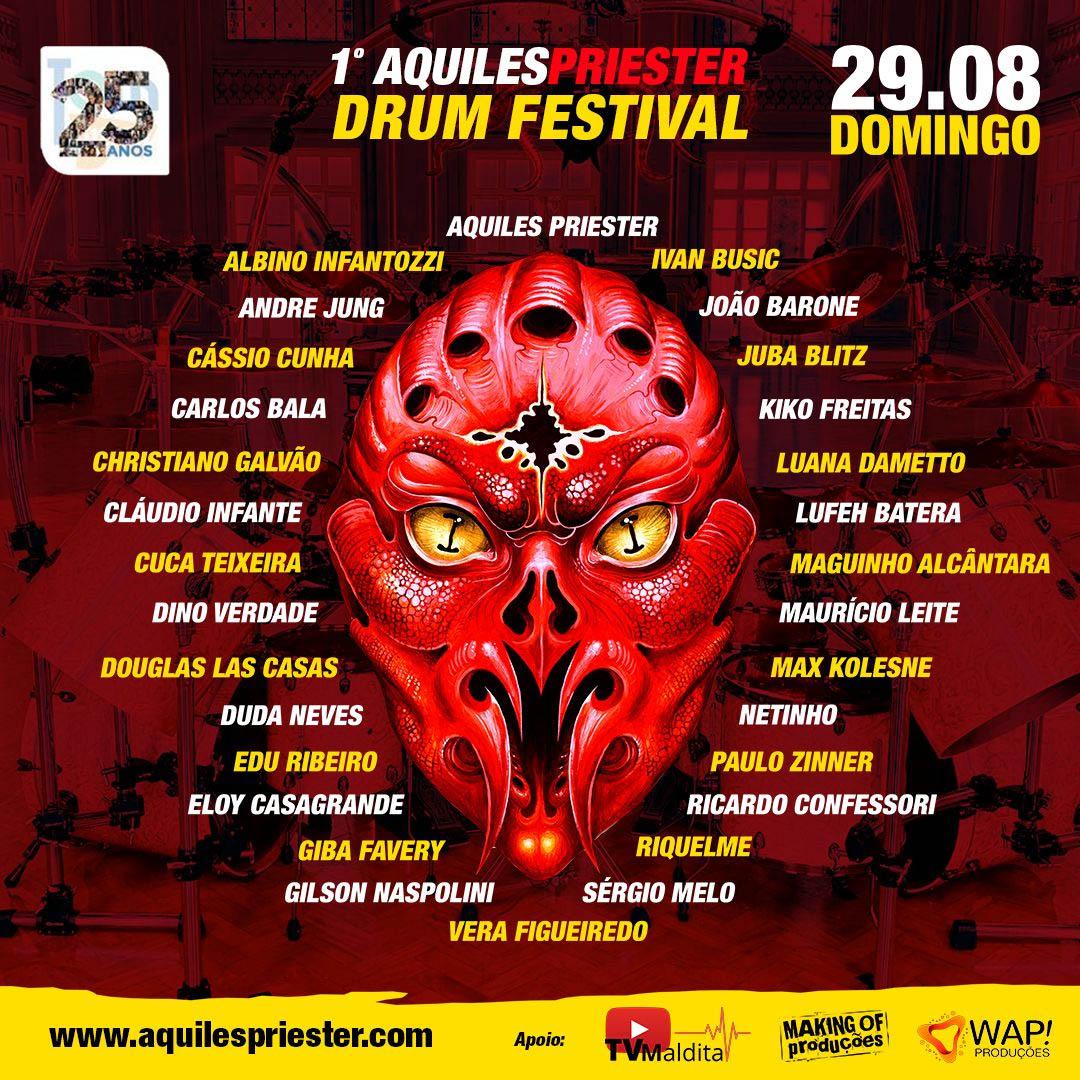 Aquiles Priester 1 Drum Festival